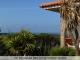 Blick von Terrasse auf das Meer